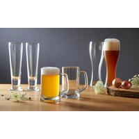 GLÄSERSET 2-teilig - Transparent, Basics, Glas (15,50/24,50/8,00cm) - LEONARDO