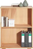 AKTENREGAL Kernbuche massiv Buchefarben - Buchefarben, Design, Holz (73/90/38cm) - CARRYHOME