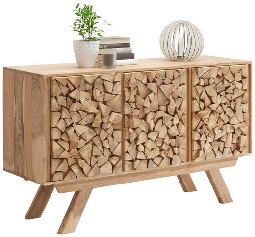 KOMMODE 140/80/40 cm - Akaziefarben, Trend, Holz/Holzwerkstoff (140/80/40cm) - Landscape