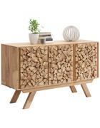 KOMODA, akácie, barvy akácie - barvy akácie, Trend, dřevo/kompozitní dřevo (140/80/40cm) - Landscape