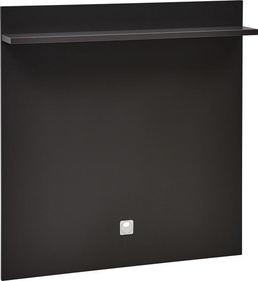 WANDPANEEL bedruckt Graphitfarben - Graphitfarben, KONVENTIONELL (96/100/17cm) - Voleo