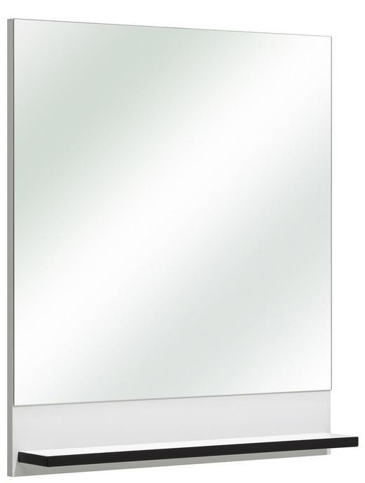 Spiegel - Weiß, Konventionell, Glas/Holzwerkstoff (60/70/13cm) - Xora