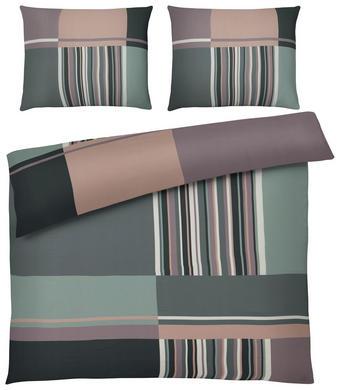 POVLEČENÍ - zelená, Design, textil (200/200cm) - NOVEL