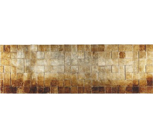OBJEKTBILD Strukturen  - Silberfarben/Goldfarben, Design, Holz (56/180cm) - Monee