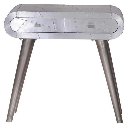 BEISTELLTISCH Alufarben - Alufarben, Design, Metall (80/76/38cm) - Carryhome