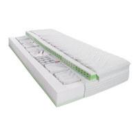 Taschenfederkern MATRATZE 90/200 cm - Weiß, Basics, Textil (90/200cm) - PHYSIOSLEEP