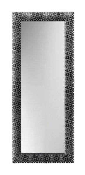 VÄGGSPEGEL - silver/svart, Design, glas/trä (78/188/2,5cm)
