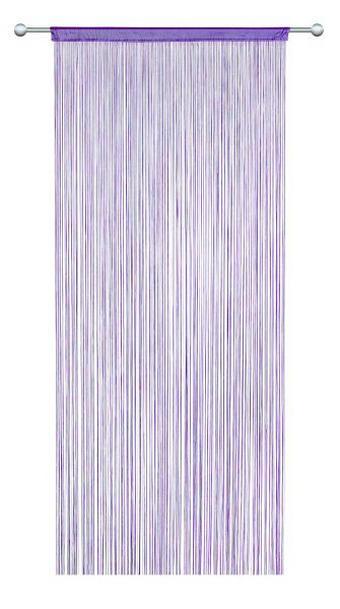 NITASTA ZAVESA UNI - bezeg, Basics, tekstil (90/245cm) - Boxxx