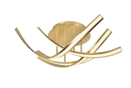 STROPNA LED SVETILKA LINDA - zlata, Design, kovina (73/73/20cm)