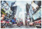 Städte GLASBILD - Multicolor, Design, Glas (120/80cm)