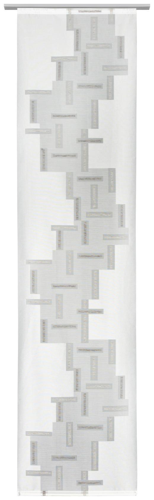 FLÄCHENVORHANG   transparent   60/245 cm - Braun, Design, Textil (60/245cm) - Novel