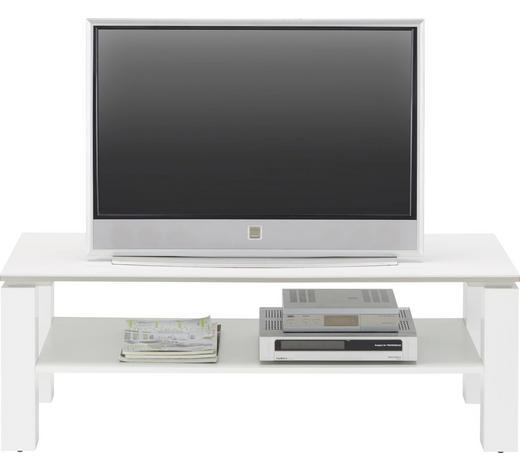 TV ELEMENT - bijela, Design, drvni materijal (120/41/45cm) - Ti`me