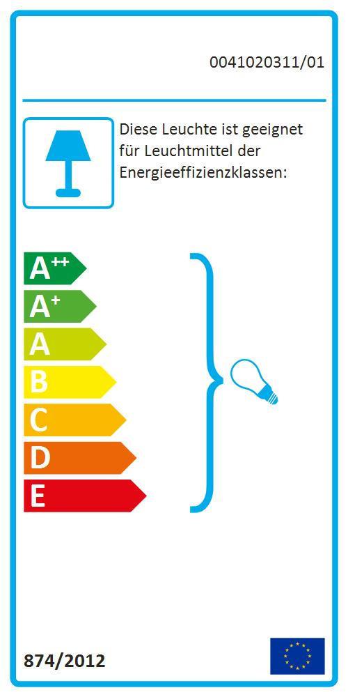 TISCHLEUCHTE - Rostfarben/Weiß, Glas/Metall (15,5/40cm)