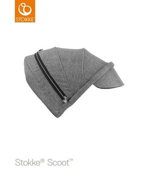 STOKKE SCOOT SUFFLETT - mörkgrå, Design, textil (35/48/7cm) - STOKKE