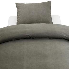 PÅSLAKANSET - grå, Klassisk, textil (220/210cm)