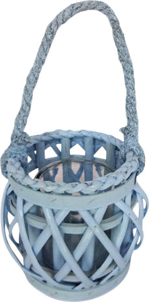 WINDLICHT - Blau, Basics, Holz (14/16,5cm) - Boxxx