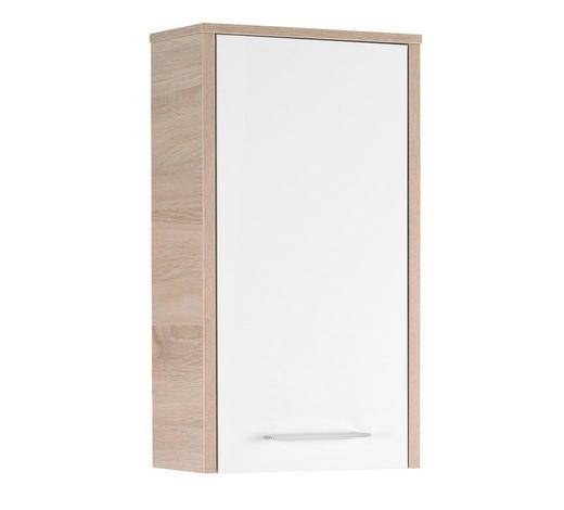 HÄNGESCHRANK 40/72/20 cm  - Chromfarben/Eichefarben, Design, Holz (40/72/20cm) - Xora