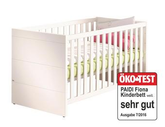 GITTERBETT Fiona Weiß - Weiß, Trend, Holz (70/140cm) - Paidi