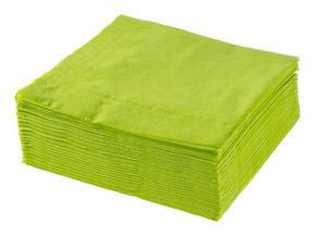 SERVETT - olivgrön, Basics, papper (40/40cm) - Xxxlpack