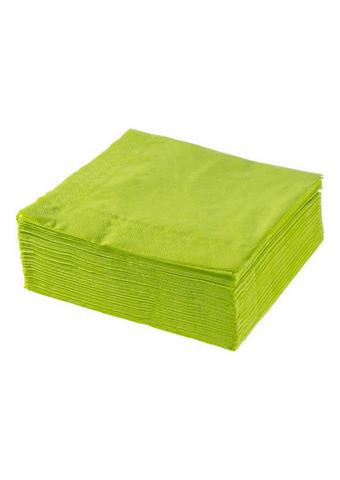 SERVIETE XXXL PACK, ZELENA - olivno zelena , Basics, papir (40/40cm) - Xxxlpack
