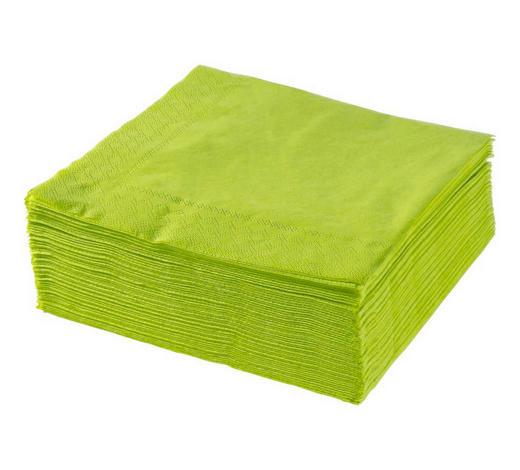 SERVIETTE - Olivgrün, Basics, Papier (40/40cm) - Xxxlpack