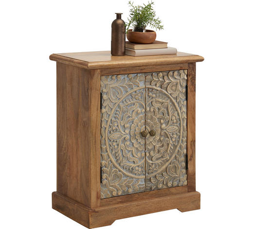KOMMODE 66/76/35 cm  - Multicolor/Schwarz, Trend, Holz/Holzwerkstoff (66/76/35cm) - Ambia Home