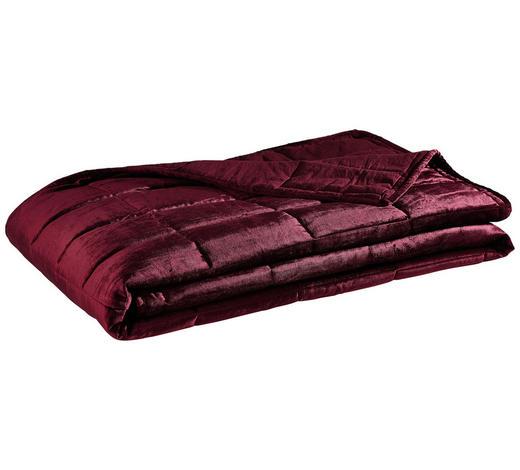 ÜBERWURF - Rot, Trend, Textil (180/240cm)