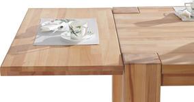 ANSTECKPLATTE Kernbuche massiv Buchefarben  - Buchefarben, Design, Holz (50/100cm) - Carryhome
