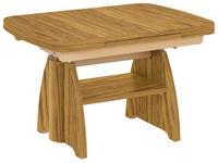COUCHTISCH in Holz 90(130,5)/65/56-75 cm   - Eichefarben, KONVENTIONELL, Holz (90(130,5)/65/56-75cm) - Venda