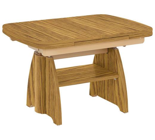 COUCHTISCH in Holz 90(130,5/65/56-75 cm - Eichefarben, KONVENTIONELL, Holz (90(130,5/65/56-75cm) - Venda