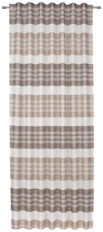 FERTIGVORHANG  blickdicht  140/245 cm - Braun, KONVENTIONELL, Textil (140/245cm) - Esposa