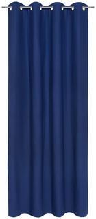 ÖSENVORHANG blickdicht - Blau, Basics, Textil (140/245cm) - Esposa