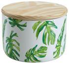 POSUDA ZA ZALIHE - zelena/natur boje, Basics, drvo/keramika (12/9cm) - AMBIA HOME