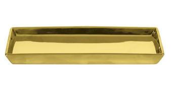 POSODICA ZA MILO GLAMOUR - zlata, Konvencionalno, keramika (23,80/0,21cm) - Kleine Wolke