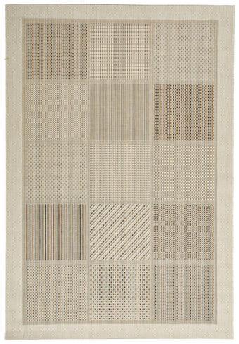 FLACHWEBETEPPICH  60/110 cm  Weiß - Weiß, Basics, Textil (60/110cm) - Novel