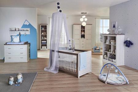 Babykleiderschrank In Weiss Und Grau Bestellen