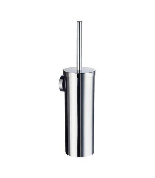WC-BÜRSTENGARNITUR Metall - Chromfarben, Basics, Kunststoff/Metall (11,9/39cm)