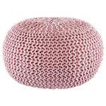 POUF Uni Rosa  - Rosa, Trend, Textil (55/35cm) - Linea Natura