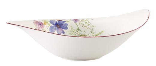 SALATSCHÜSSEL Fine China Keramik - Multicolor/Weiß, Basics, Keramik (24cm) - Villeroy & Boch