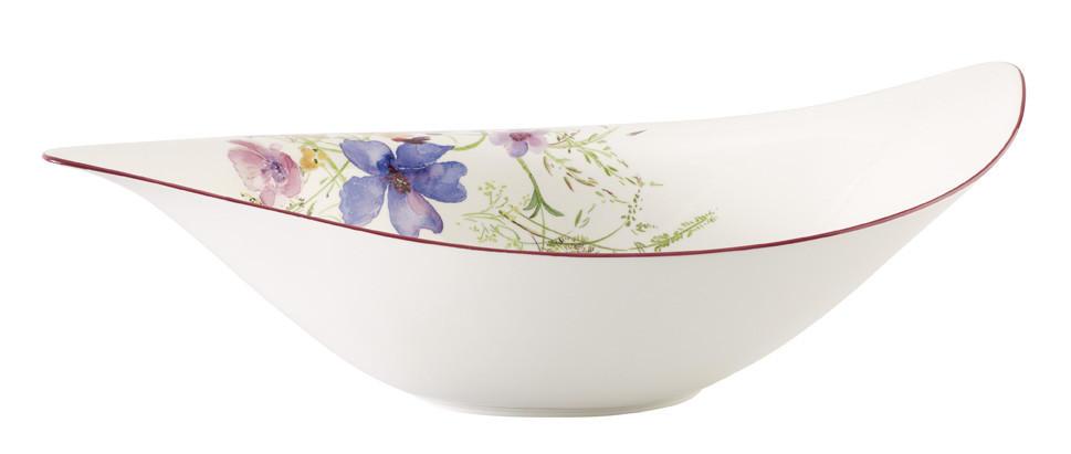 SKLEDA ZA SOLATO - bela/večbarvno, Basics, keramika (24cm) - VILLEROY & BOCH