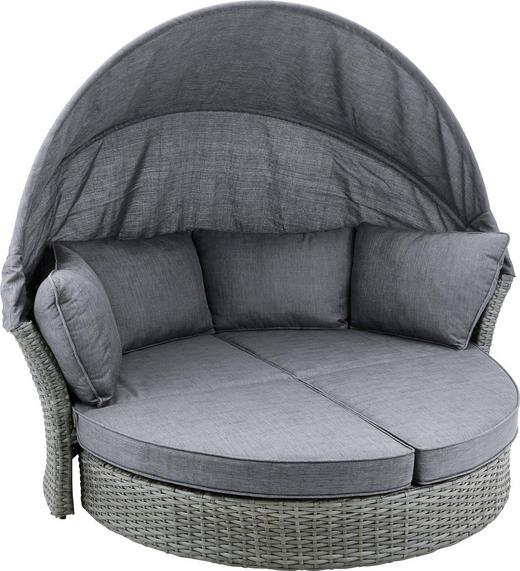 GARTENMUSCHEL - Grau, LIFESTYLE, Kunststoff/Textil (200cm) - Ambia Garden
