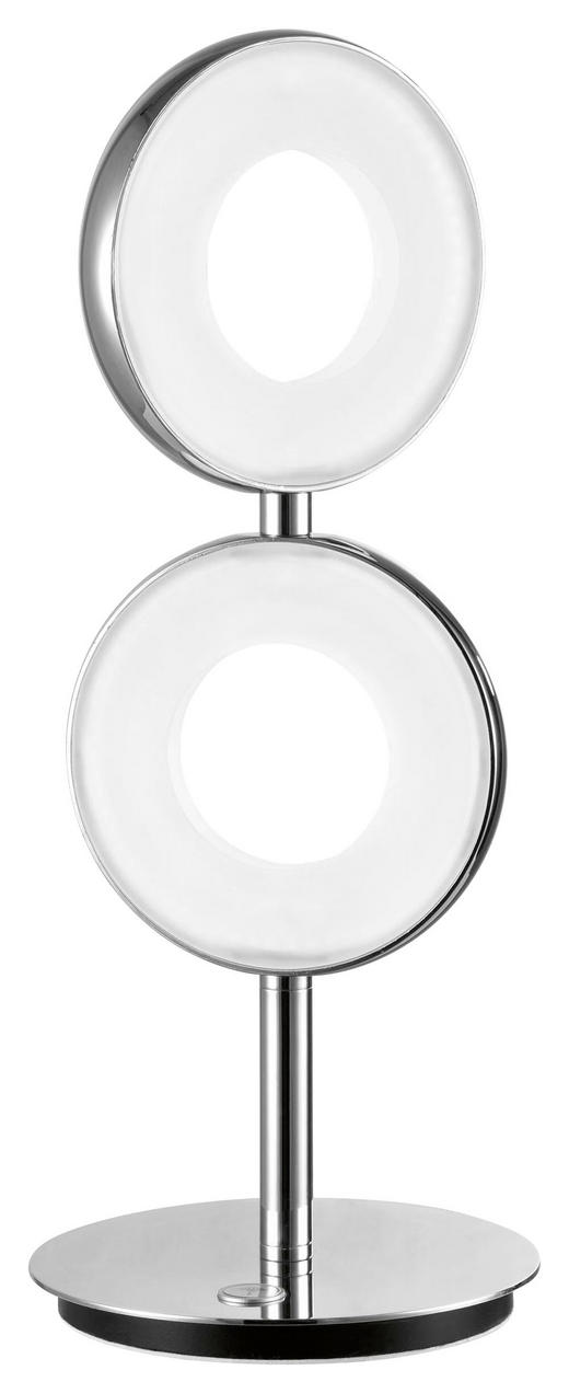 LED-TISCHLEUCHTE - Chromfarben, Design, Kunststoff/Metall (16/16/37,80cm) - Joop!