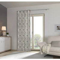 ÖSENVORHANG blickdicht - Taupe, KONVENTIONELL, Textil (135/245cm) - Esposa