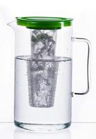 GLASKRUG  2,5 L - Grün, Basics, Glas/Kunststoff (2,5l) - BOHEMIA