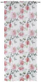 KONČANA ZAVESA DOLLY - rdeča, Konvencionalno, tekstil (135/245cm) - ESPOSA