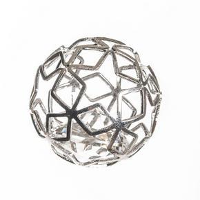 DEKORATIONSKULA - silver, Basics, metall (3/8/6cm) - Ambia Home