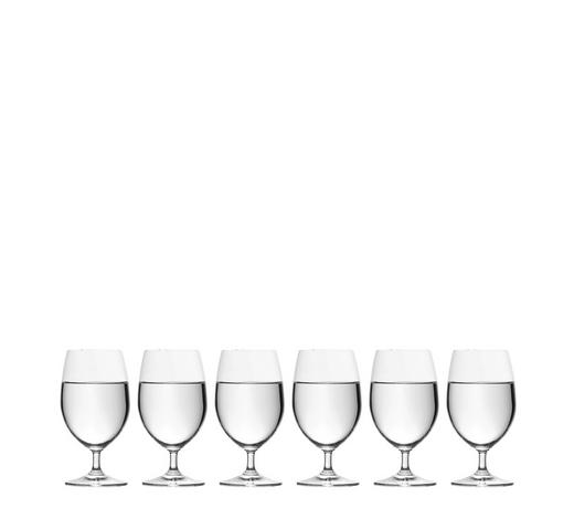 GLÄSERSET 6-teilig  - Klar, Basics, Glas (0,27cm) - Leonardo