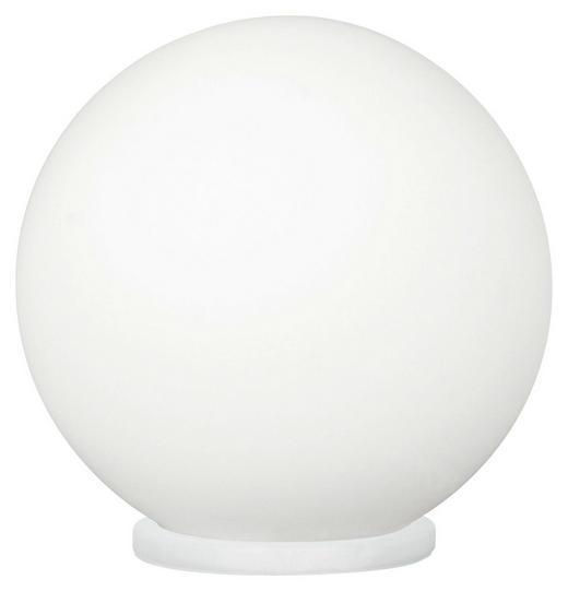 NAMIZNA LED SVETILKA RONDO - bela, Design, umetna masa/steklo (20/20cm) - Novel
