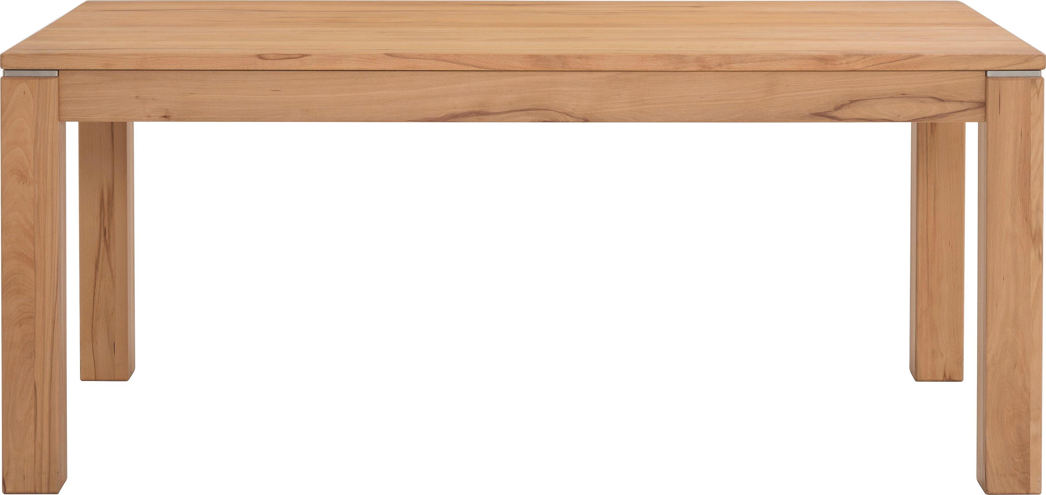 ESSTISCH Rotkernbuche massiv rechteckig Buchefarben - Buchefarben, Design, Holz (180(280)/76/95cm) - CASSANDO