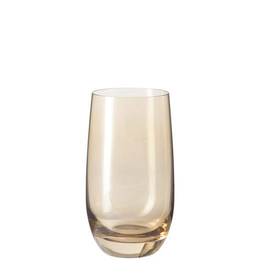 LONGDRINKGLAS - Braun, Basics, Glas (7,00/13,00/7,00cm) - Leonardo